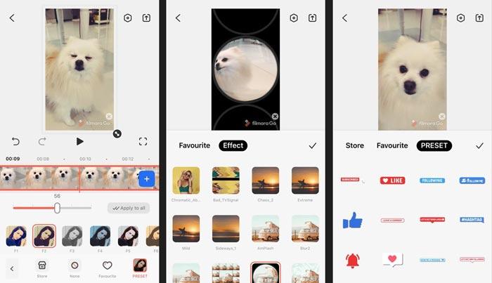 แอป FilmoraGo + แอพตัดต่อวีดีโอ + App วีดิโอ + Video Editor